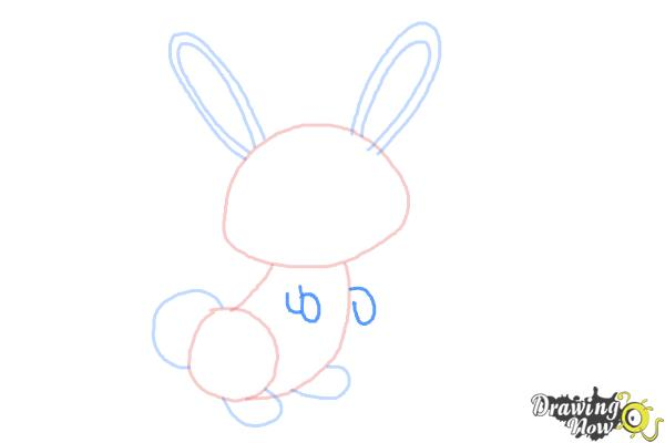 How to Draw a Simple Bunny - Step 5