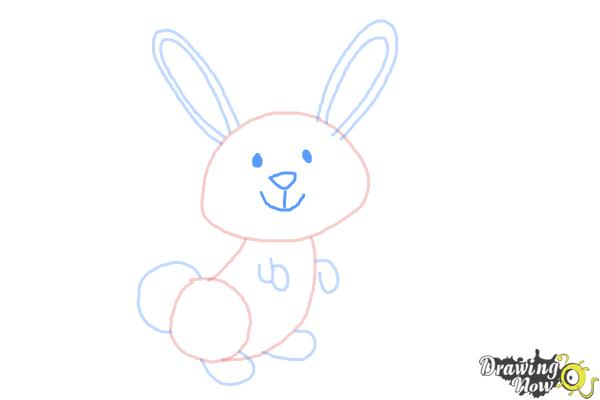 How to Draw a Simple Bunny - Step 6