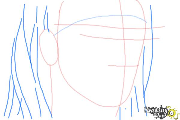 How to Draw Christian Coma - Step 4