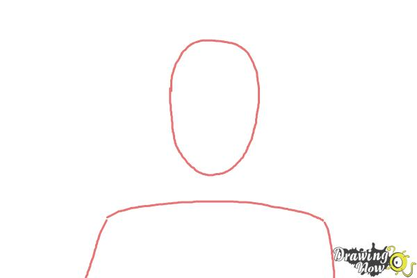 How to Draw Renzo Shima from Ao No Exorcist, Blue Exorcist - Step 1