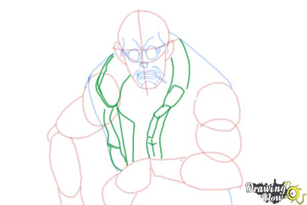 How to Draw Dutch from Black Lagoon - Step 8