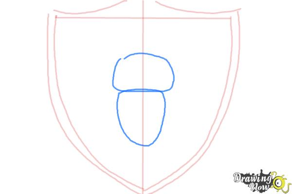How to Draw The Oakland Raiders, Nfl Team Logo - Step 3