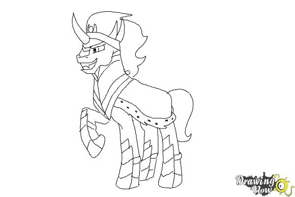 How To Draw King Sombra From My Little Pony Friendship Is Magic Drawing King
