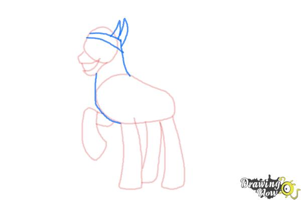 How to Draw King Sombra from My Little Pony Friendship Is Magic - Step 5