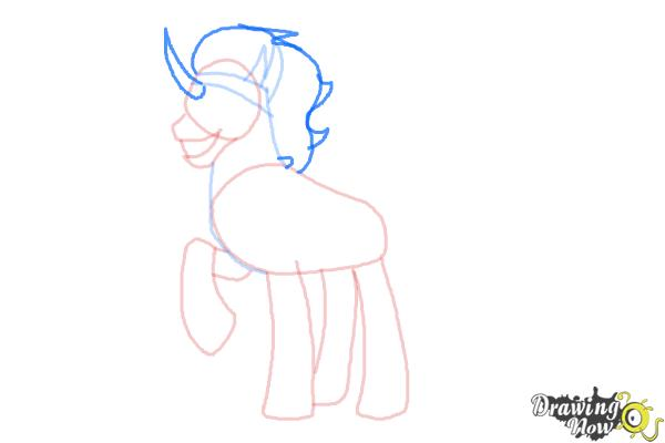 How to Draw King Sombra from My Little Pony Friendship Is Magic - Step 6