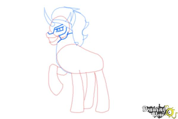 How to Draw King Sombra from My Little Pony Friendship Is Magic - Step 7