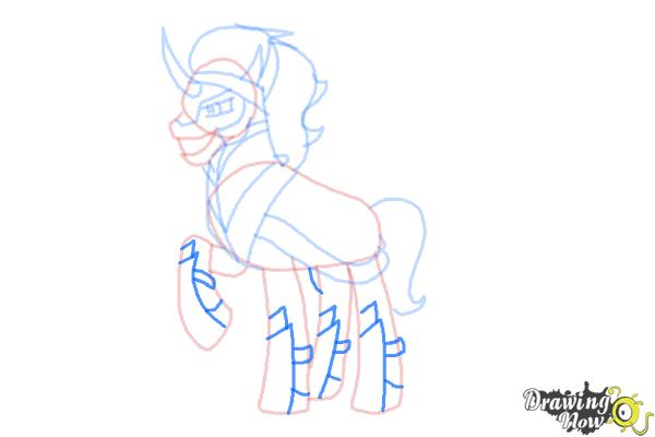 How to Draw King Sombra from My Little Pony Friendship Is Magic - Step 9