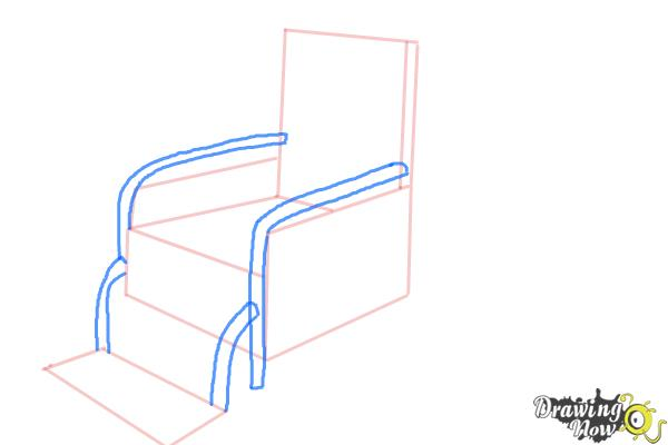 How to Draw a Wheelchair - Step 5