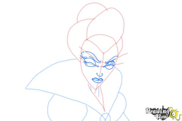 How to Draw Enchantra from Sabrina Secrets Of a Teenage Witch - Step 5