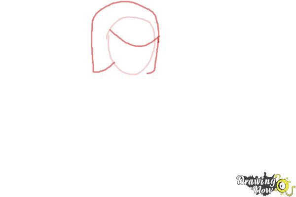 How to Draw Clash Of Clans Archer - Step 2