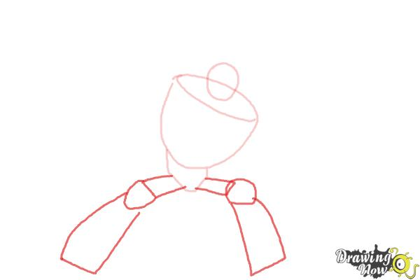 How to Draw Blades from Transformers Rescue Bots - Step 3