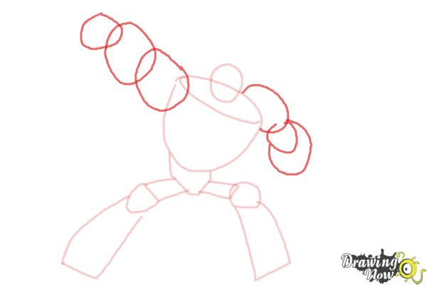 How to Draw Blades from Transformers Rescue Bots - Step 4