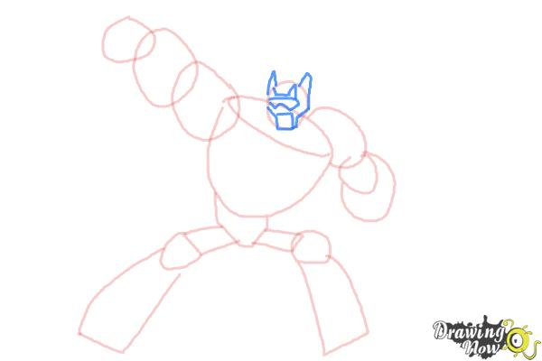 How to Draw Blades from Transformers Rescue Bots - Step 5