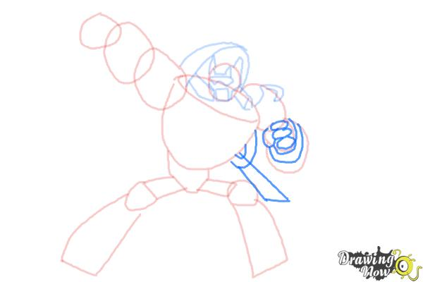 How to Draw Blades from Transformers Rescue Bots - Step 7