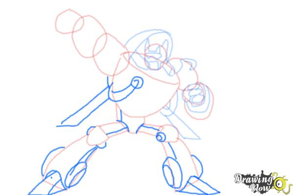 How to Draw Blades from Transformers Rescue Bots - Step 8