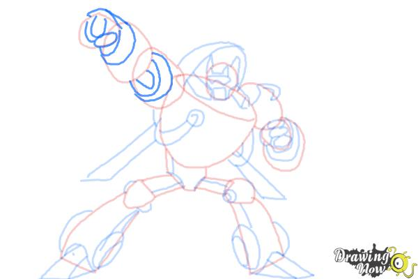 How to Draw Blades from Transformers Rescue Bots - Step 9