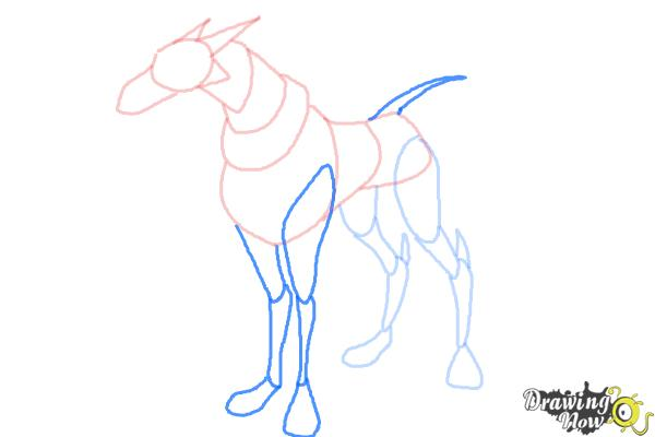 How to Draw Khyber'S Dog from Ben 10 Omniverse - Step 6