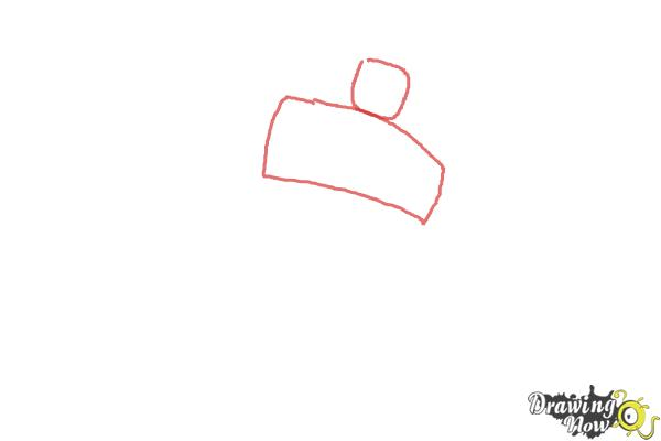 How to Draw Heatwave from Transformers Rescue Bots - Step 1