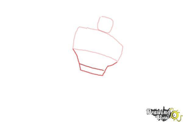 How to Draw Heatwave from Transformers Rescue Bots - Step 2