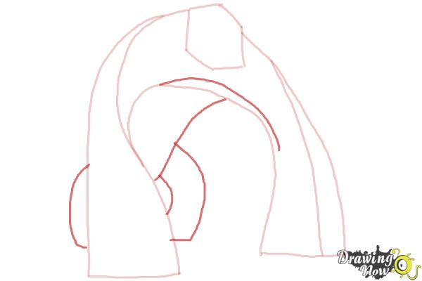 How to Draw Bloxx from Ben 10 Omniverse - Step 4