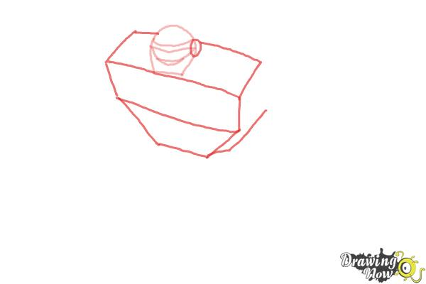 How to Draw Boulder from Transformers Rescue Bots - Step 2