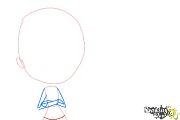 How to Draw The Biskit Twins from Littlest Pet Shop - Step 3
