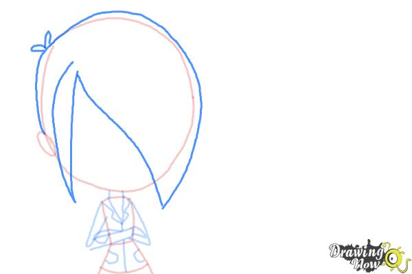 How to Draw The Biskit Twins from Littlest Pet Shop - Step 5