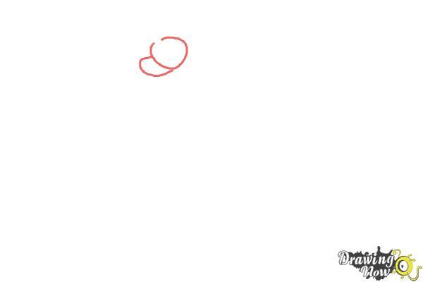 How to Draw Mega Charizard X - Step 1