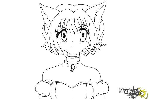 how to draw ichigo momomiya from tokyo mew mew
