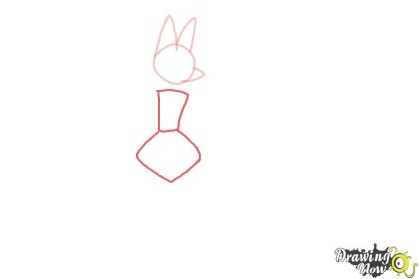 How to Draw Mega Lucario - Step 2