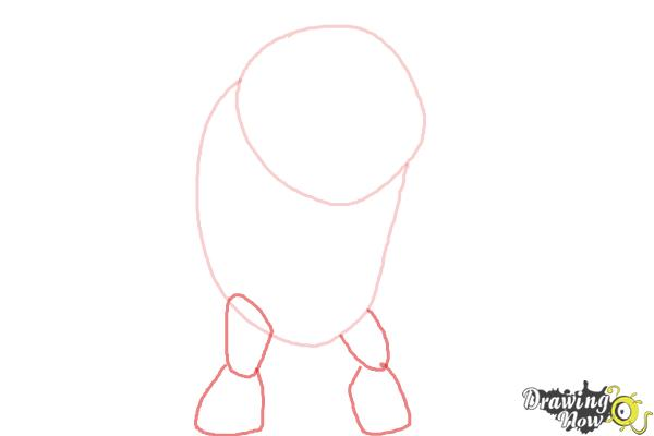 How to Draw Eatle from Ben 10 Omniverse - Step 2