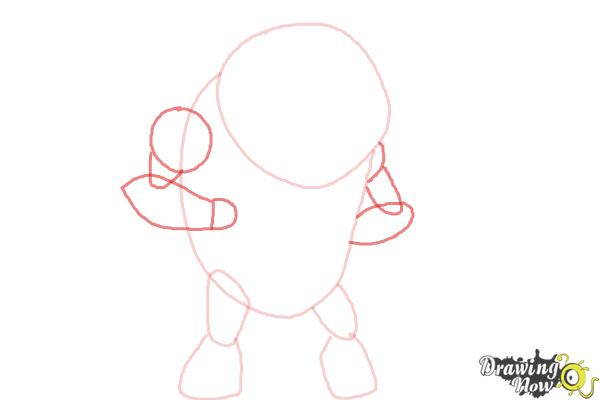 How to Draw Eatle from Ben 10 Omniverse - Step 3