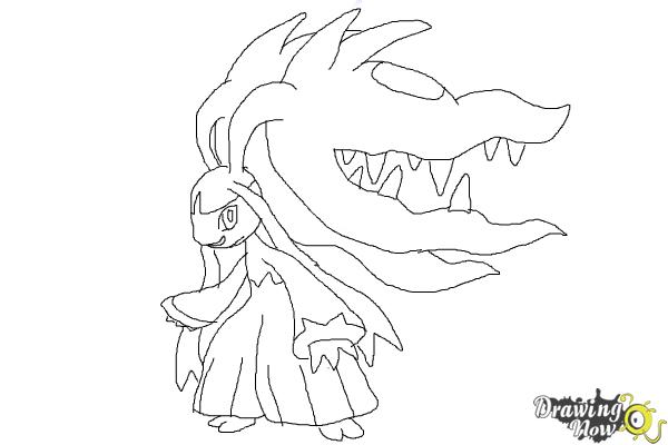 How to Draw Mega Mawile - Step 11