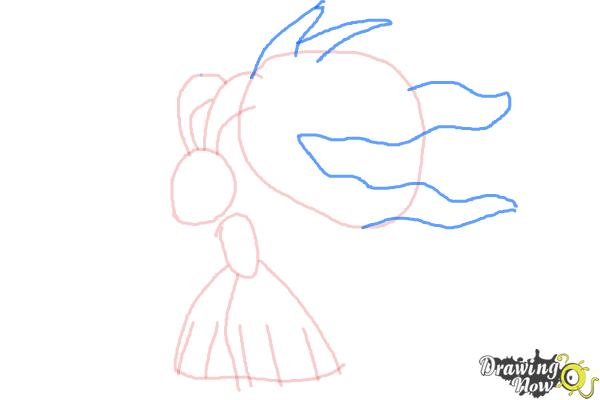 How to Draw Mega Mawile - Step 5