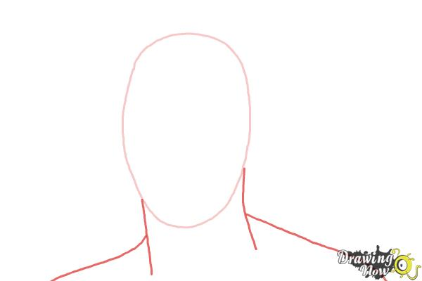 How to Draw Steven Gerrard - Step 2