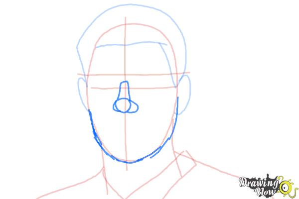 How to Draw Steven Gerrard - Step 5
