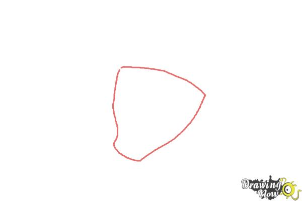 How to Draw Snare-Oh from Ben 10 Omniverse - Step 1