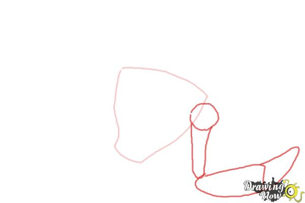 How to Draw Snare-Oh from Ben 10 Omniverse - Step 2