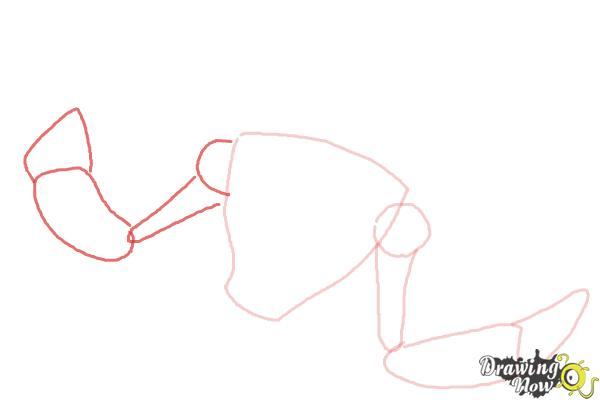 How to Draw Snare-Oh from Ben 10 Omniverse - Step 3