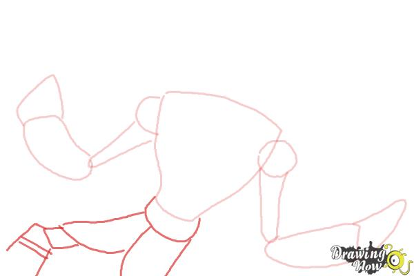 How to Draw Snare-Oh from Ben 10 Omniverse - Step 4