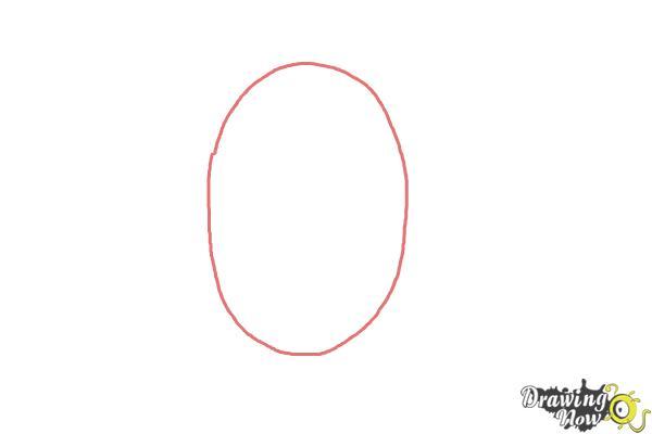 How to Draw Maddie Ziegler - Step 1