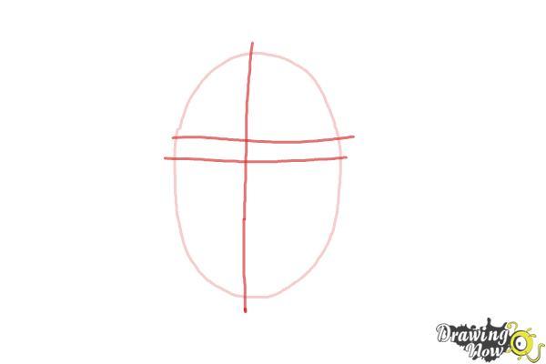 How to Draw Maddie Ziegler - Step 2