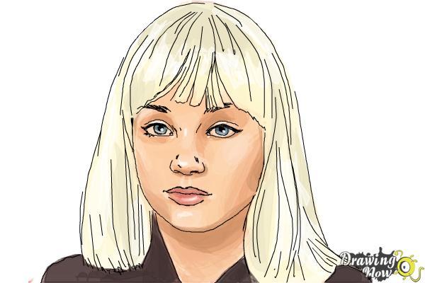 How To Draw Maddie Ziegler Drawingnow