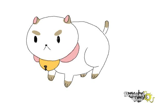 How To Draw Puppycat From Bee And Puppycat Drawingnow