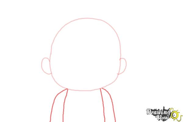 How to Draw Cardamon from Bee And Puppycat - Step 2