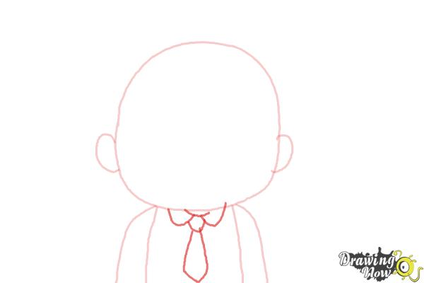 How to Draw Cardamon from Bee And Puppycat - Step 3