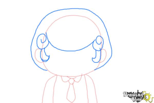 How to Draw Cardamon from Bee And Puppycat - Step 4