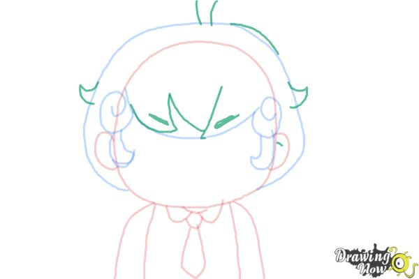How to Draw Cardamon from Bee And Puppycat - Step 5