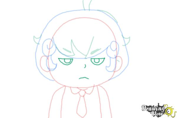 How to Draw Cardamon from Bee And Puppycat - Step 6