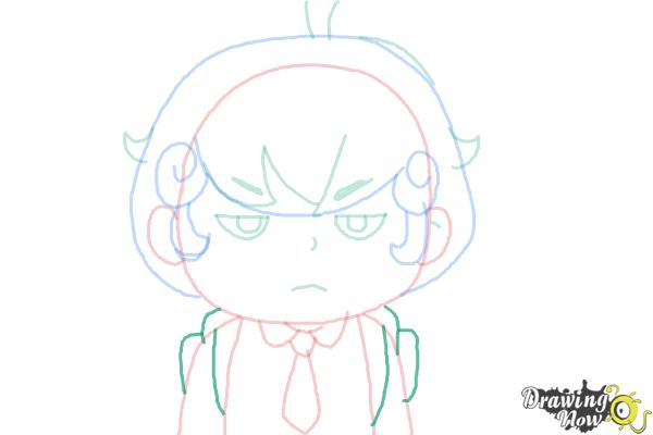 How to Draw Cardamon from Bee And Puppycat - Step 7
